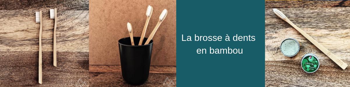 La brosse à dents en bambou - Mes courses en vrac