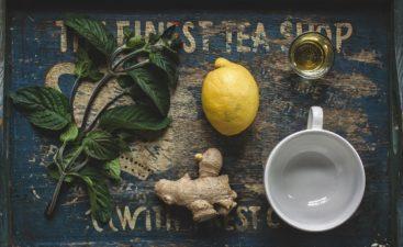 Thé à la menthe et au gingembre