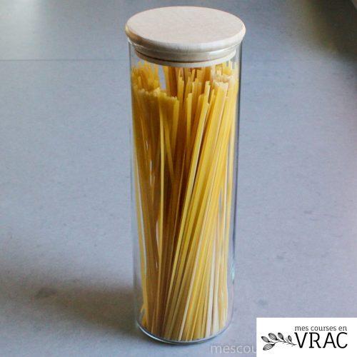Bocal en verre pour spaghetti - Mes courses en vrac