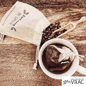 Sachets de thé réutilisables - Mes courses en vrac
