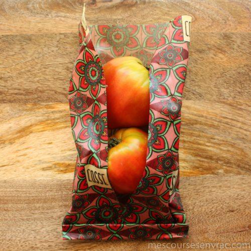 Emballage alimentaire réutilisable - Fleurs
