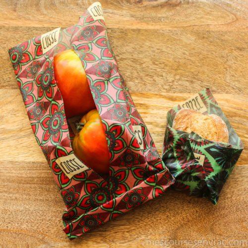 Emballages alimentaires réutilisables - Fleur