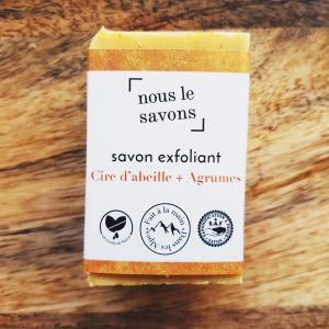 Savon à l'orange - Mes courses en vrac