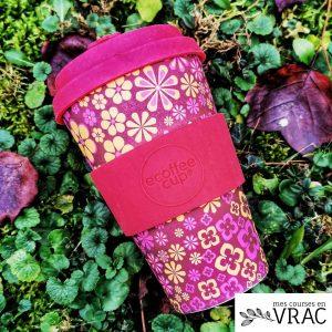 Ecoffeecup mug pour le café en bambou - Mes courses en vrac