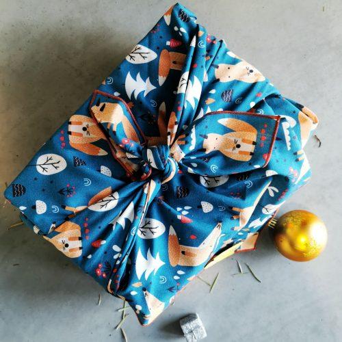 EMballage cadeau en tissu - Mes courses en vrac