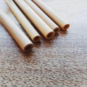 Paille en bambou - Mes courses en vrac