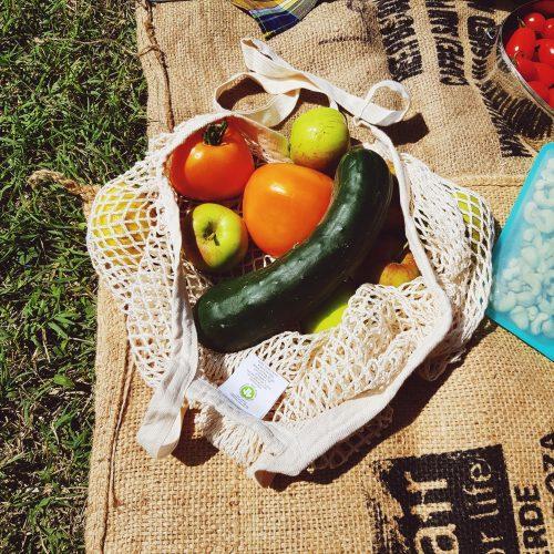 Filet à fruits et légumes - mes courses en vrac 1