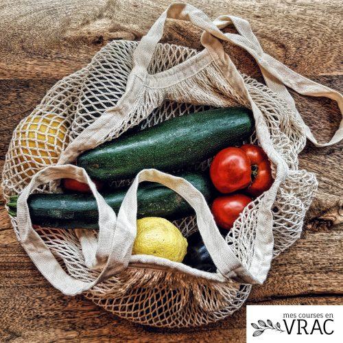 Filet fruits et légumes - Mes courses en vrac