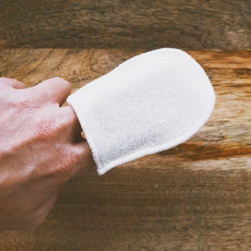 Mini-gant à démaquiller