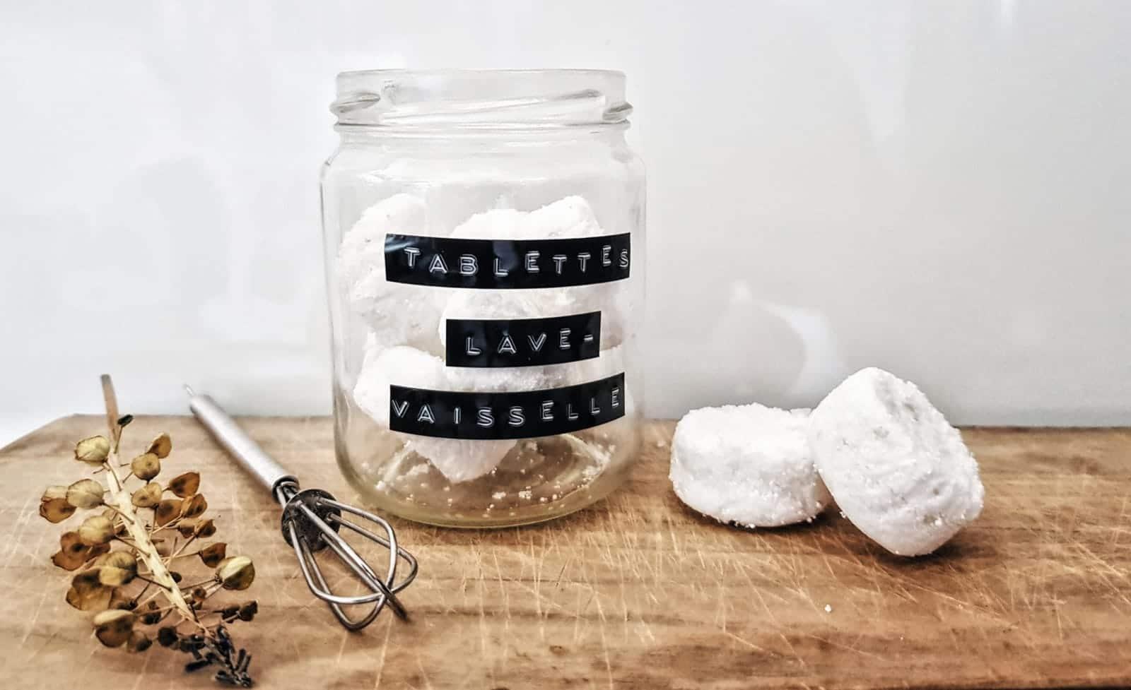 recette tablette lave vaisselle