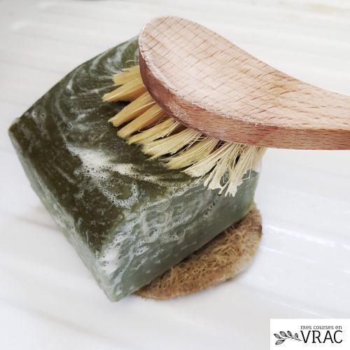 Brosse à vaisselle en bois - Mes courses en vrac