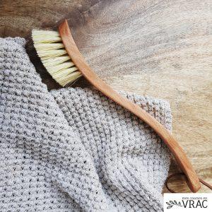 Brosse à vaisselle en fibre - Mes courses en vrac