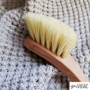 Brosse vaisselle bois et fibre - mes courses en vrac