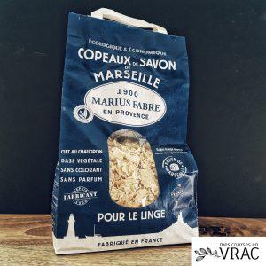 Copeaux de savon de Marseille sans huile de palme - Mes courses en vrac