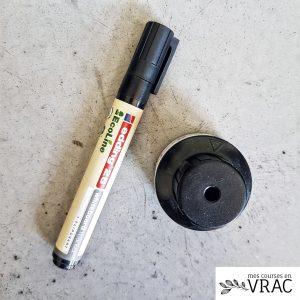 marqueur noir rechargeable
