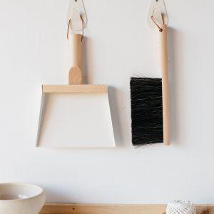 Coffret Pelle + Balayette + Crochet BLANC