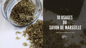 10 usages du savon de marseille - Mes courses en vracpng
