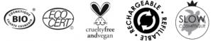 Maquillage vegan logo zao - Mes courses en vrac