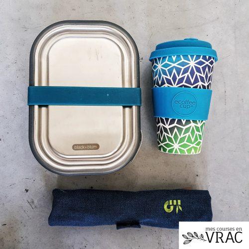 kit déjeuner zéro-déchet - Electric blue - Mes courses en vrac