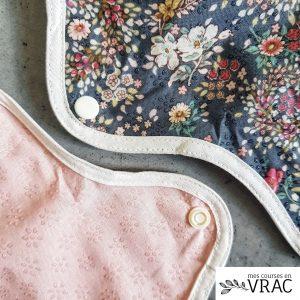 Coloris serviettes lavables - Mes courses en vrac