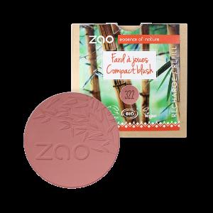 Recharge fard à joues ZAo brun rose - Mes courses en vrac