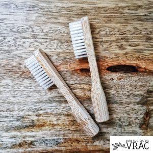 Recharge pour brosse à dents en bambou