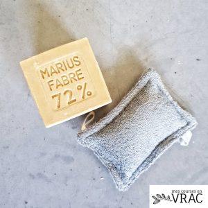 Véritable savon de marseille sans huile de palme - Mes courses en vrac