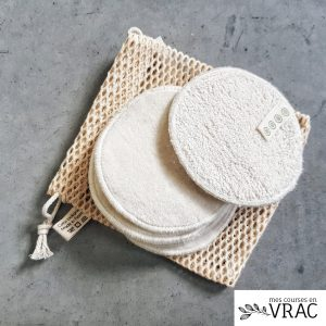 cotons lavables bio