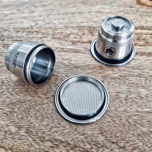 Capsule inox rechargeabl nespresso