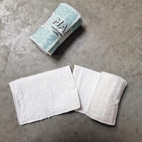 Papier toilette lavable blanc - Mes courses env rac