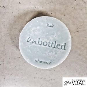 Shampoing solide unbottled