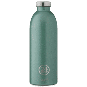 24 bottles rustic moss green cIMA 850ml